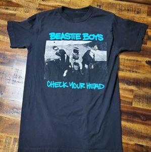 Beastie Boys Check Your Head Band Tshirt - Small